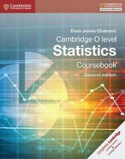 Cambridge O-Level Statistics Coursebook (Paperback or Softback)