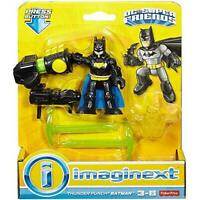 IMAGINEXT DC Super Friends BATMAN /& HUNTRESS ~ Fisher Price ~ NIP
