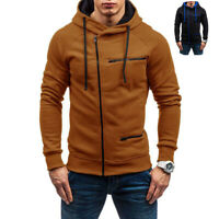 Men's Warm Hoodie Hooded Coat Jacket Outwear Jumper Winter Sweater Sweatshirt