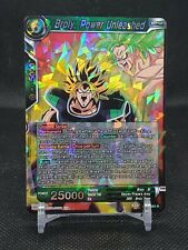 Power Level Dragon Ball Fan Custom HK Card Puzzle Cards Broly