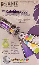 BUILD A SMALL KALEIDOSCOPE & SEE COLOURFUL SHAPES. EASY TO ASSEMBLE,TONS OF FUN