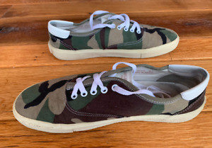 Saint Laurent Camouflage Shoes Men's Size 11 US