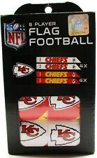 Nfl Kansas City Chiefs 8 Player Flag Football (New)