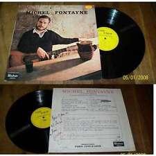 MICHEL FONTAYNE - Je Suis Michel Fontayne Rare French Private Folk Dédicacé