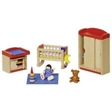 0310 Puppenmöbel Kinderzimmer, goki 51905, das perfekte Babyzimmer, Puppenhaus