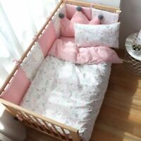 Baby Bedding Set Boy Girl Cotton Kid Bed Children Crib Bedding Baby Decoration
