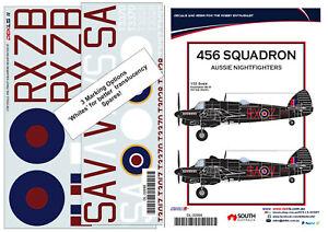 1/32 Decal  - 456 Squadron  'Aussie Nightfightrers' - Beaufighter IIF DEKL's II