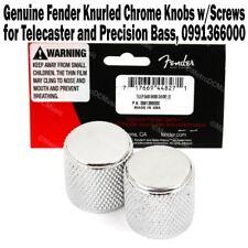 Genuine Fender Knurled Knobs for Telecaster & Precision Bass Tele P 0991366000