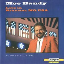 "MOE BANDY CD ""Live in Branson, MO, USA"" 13 tracks Brand New Digital Recording"