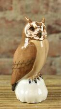 Bing & Grondahl Owl Porcelain Figurine #1800 No Reserve