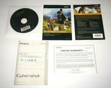 Sony Cyber-Shot DSC-H55 Instruction Manual & CD