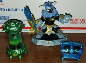 Skylanders Imaginators Cursed Tiki Temple Level Pack Wild Storm Blue Imaginite +