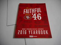 2016 SAN FRANCISCO 49ers nfl pro football yearbook