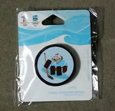 Quatchi 3D Puck 1565 AUTHENTIC Vancouver 2010 Winter Olympic  PIN New