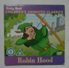 ROBIN HOOD CHILDREN'S ANIMATED CLASSICS DAILY MAIL DVD PROMO NEWSPAPER GC