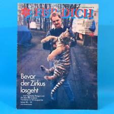 DDR FÜR DICH 5 1989 Eisschnellauf Schach Brandenburg Zirkus Jugendweihe Castro