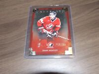 2013-14 Upper Deck Artifacts 133 dany heatley Team Canada