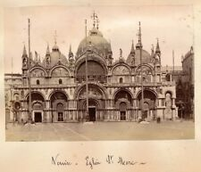 VENISE c. 1880 - 2 Photos Italie - APA 48