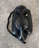 SIEMENS FG TIST 282 Antikes Wählscheibentelefon Telefon - Schwarz #A13