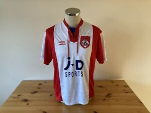 Oldham Athletic Away Shirt 1993/1994 Medium Vintage Football Retro