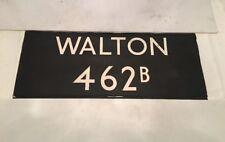 "London Linen Bus Blind 24Nov72 36""- 462b Walton"