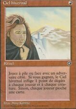 MTG Magic - Terres Natales -  Ciel hivernal -  Rare VF