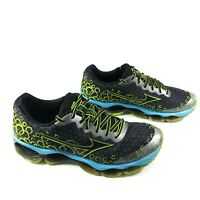 Men's Mizuno Wave Prophecy 3 [ Mens Size 10 ] Black Blue J1GC140002 A2317