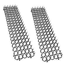 2 Elemente Dornengitter mit je 50 cm | Tierabwehr | Katzenabwehr | Marderschutz