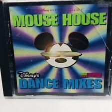 Disney Mouse House CD Music 1996 Vintage Dance Mixes