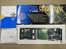 Zyxel U-1496B PC modem internal