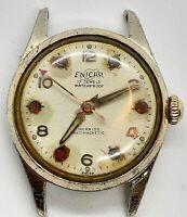 Enicar Watch Vintage Waterproof Incabloc Antimagnetic Swiss 17 Jewels S Men