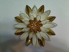 Vintage Sarah Coventry Water Lily Brooch, Excellent