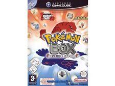 ## Pokemon Box Rubin & Saphir (Deutsch) (nur die CD / unboxed) Gamecube Spiel ##