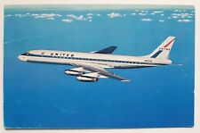 United Air Lines DC-8 Jet Mainliner Postcard