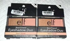 Lot of 2 E.L.F. Best Friend Eye Shadow Eyeshadow Duo ~ Peach Squad