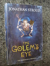 Signed First Edition,First Impression The Golem's Eye by Jonathan Stroud