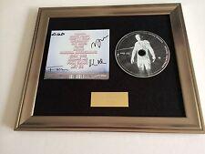 SIGNED/AUTOGRAPHED LITTLE DRAGON - NABUMA RUBBERBAND FRAMED CD PRESENTATION.