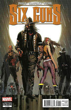 SIX GUNS: LOCKED AND LOADED 1-5 COMPLETE SET/LOT TWO GUN KID ANDY DIGGLE MARVEL