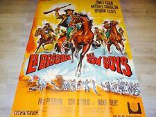 LA BRIGADE DES COWBOYS  !  affiche cinema  western