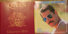 QUEEN Greatest Hits + Freddie Mercury Mr. Bad Guy 2 CD SET / CD with Booklets