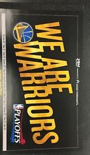 Golden State Warriors 2014 NBA Playoffs Complete Ticket Book Unseperated