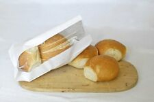 """2000 x Bread Bags. Small White Bag with Window. (5"""" x 7"""" x 9"""")"""