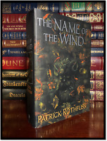 Name of the Wind ✎SIGNED✎ by PATRICK ROTHFUSS Hardback 1st Edition Print Green