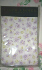 RALPH LAUREN EMILE KING PILLOWCASES VINTAGE COTTON-LAVENDER FLORAL