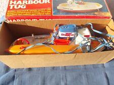 X- Playwell Harbor Tug Schiff 70er Jahre Vintage Spielzeug OVP Fernsteuerung