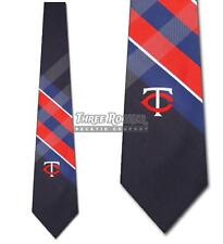 Minnesota Twins Ties FREE SHIPPING Mens Twins Necktie Licensed Neck Tie NWT