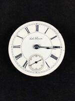 Seth Thomas Pocket Watch Movement 18s 7J 7 Jewels No Case Antique Parts Repair