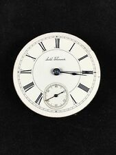 SETH THOMAS Pocket Watch Movement 34 18s 7 Jewels 7J