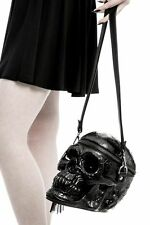 Killstar Handtasche Grave Digger Skull-Totenkopf-GOTHIC-Metal-Biker-XXL