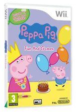 Nintendo Wii Spiel - Peppa Pig: Fun And Games mit OVP